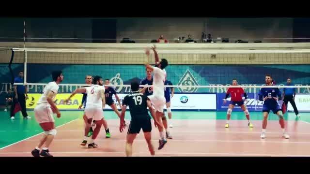 گزارش دیدار دوستانه ایران - روسیه + مصاحبه