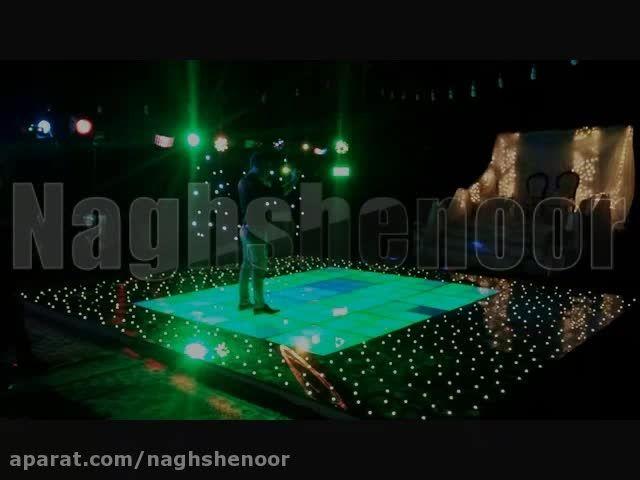 باغ تالار عروسی - استیج رقص