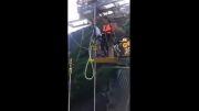سقوط 220 متری دختر ایرانی