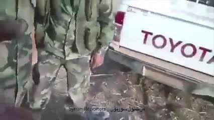 دستگیری داعشی در حلب
