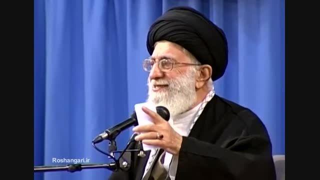 رهبر انقلاب:در جزئیات مذاکره دخالت نکرده ام ونخواهم کرد