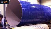 دستگاه تولید لوله های بسیار بزرگ مقوایی(جامبو لوله)