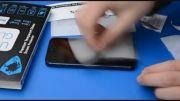 آموزش نصب محافظ صفحه شیشه ای GLASS بر روی موبایل