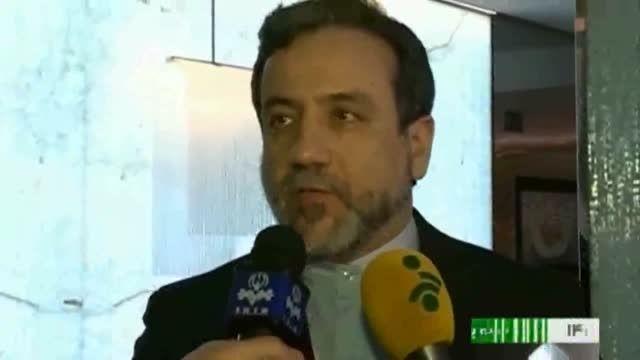عراقچی: ابایی از ترک میز مذاکرات هسته ای نداریم