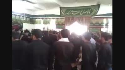 مراسم عزاداری تاسوعای حسینی روستای مز در ارد