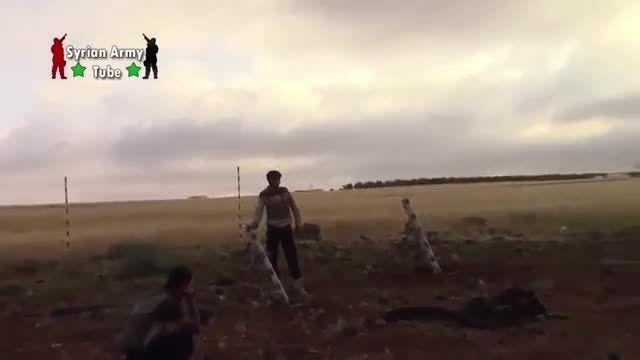 تروریست ها و هدف قرار دادن ارتش سوریه اما ....
