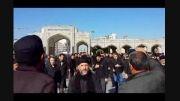 اربعین 93 در مشهد هیئت زنجیر زنان روستای ورنکش