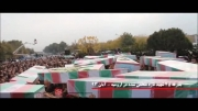 بدرقه 45 شهید تازه تفحص شده ، در ارومیه