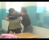 دعوا معلم و شاگرد !!! + معلم عصبانی
