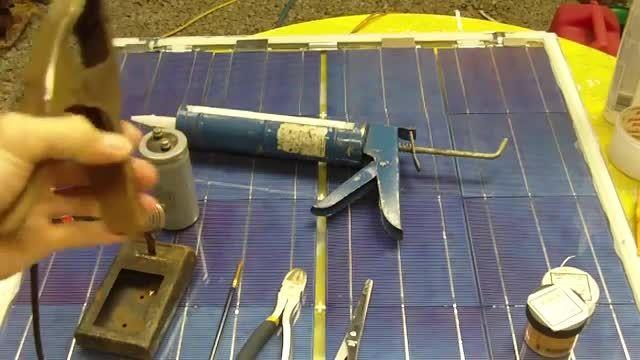 ساخت پنل خورشیدی