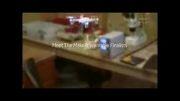 معرفی نخستین مچ بند دوربین دار پرنده
