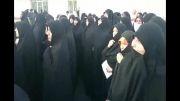 تجمع عفاف و حجاب مقابل وزارت ارشاد 7