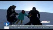 برف و تفرج مردم در آبعلی