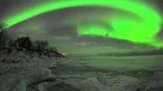 تصاویری زیبا از پدیده شفق قطبی