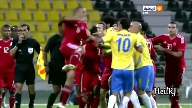 خشن ترین و وحشتناک ترین حرکات فوتبالی جهان