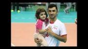 تصاویر خانواده والیبالیست ها دراینچئون حین بازی با کویت