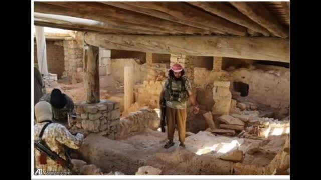 تخریب دِیر قدیمی 1500 ساله مسیحیان توسط داعش-سوریه