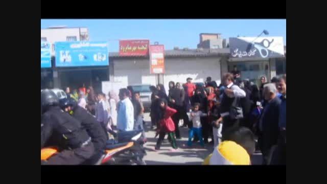 مراسم افتتاحیه دوربرگردان میانرود و پیاده روی خانوادگی