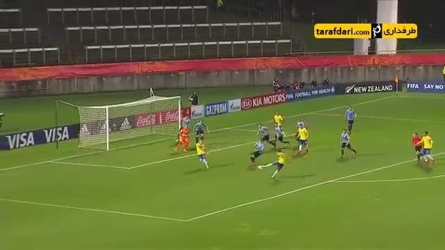 خلاصه بازی برزیل 0-0 اروگوئه (جام جهانی زیر 20 سال)