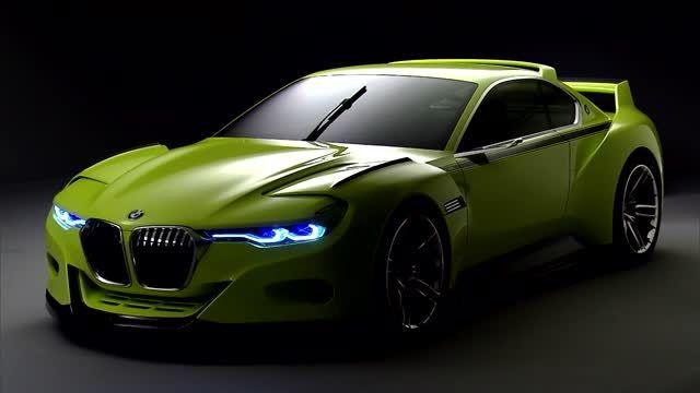 طراحی بی نظیر خودروی اسپرت BMW 3.0 CSL Hommage Concept