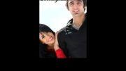 پوریا فیاضی و همسرش