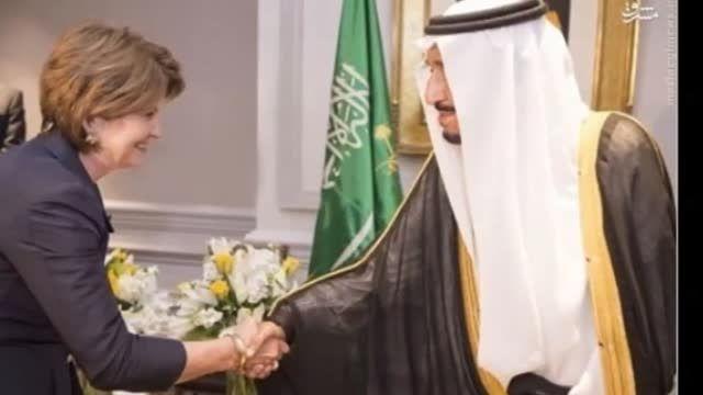 دَستِ گُلِ جدید پادشاه سعودی ملک سلمان وهابی-عراق-سوریه