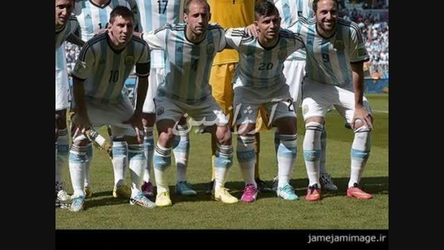 بازی ایران و آرژانتین
