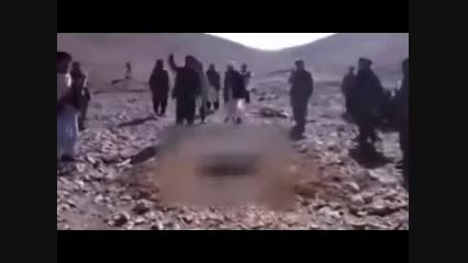 طالبان یک دختر را سنگسار کرد