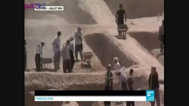 نابود کردن آثار باستانی عراق توسط داعش
