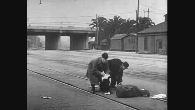 فیلم کمدی کوتاه Berth Marks ازسری فیلم های لورل و هاردی