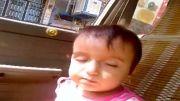 خوابیدن کودک در حین خوردن