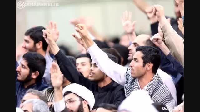 مراسم بزرگداشت و یادبود شهدای حج با حضور رهبر انقلاب