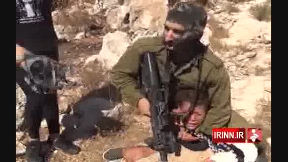 صحنه ربودن کودک فلسطینی