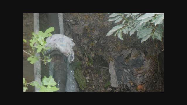 ترمیم شکستگی لوله اصلی آب روستای میانرود 94