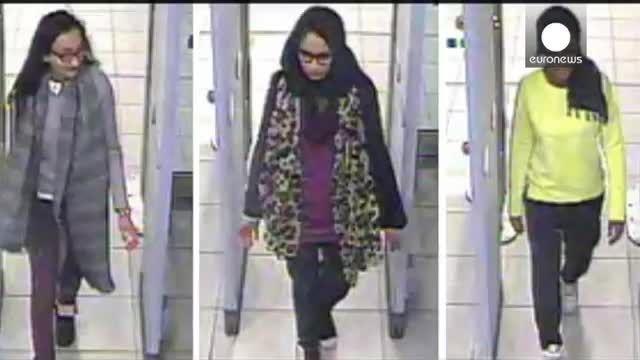 تصاویر جدید از 3دختر بریتانیایی مظنون به پیوستن به داعش