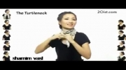 آموزش 25 روش بستن شال گردن