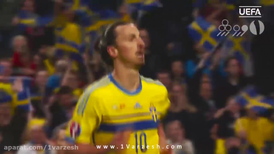 ۵ گل برتر سوئد در مقدماتی یورو ۲۰۱۶