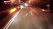 برخورد مرگبار سواری با کامیون !!