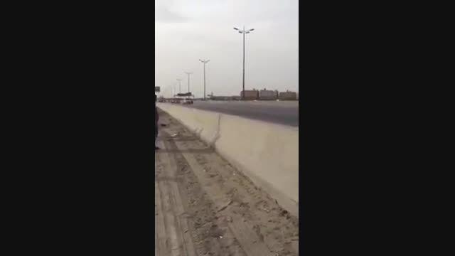 عبور کاملا عادی شاهزاده محمد بن سلمان در عربستان!