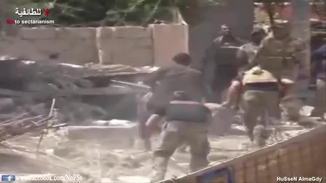 تصرف آخرین مقرهای داعش توسط نیروهای مردمی در بیجی