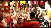 جشن صعود طرفداران هلند