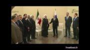 دیدار روحانی با رئیس جمهور روسیه