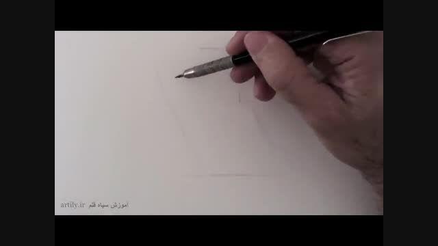 فیلم آموزش طراحی گوش با مداد
