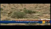 سقوط یک هواپیمای نظامی در سروستان استان فارس