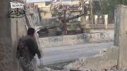 سوریه (جدید)درگیری نفر و تانک و شکست تانک