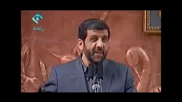شوخی ضرغامی با احمدی نژاد