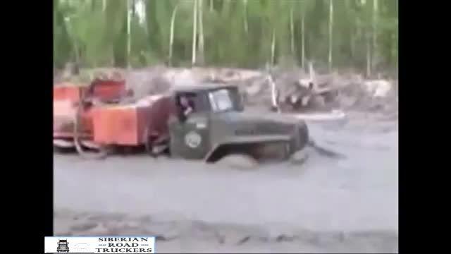 آفرود کامیون به سبک روسی