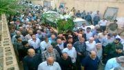 مراسم با شکوه تشییع پیکر استاد رضا صفایی مداح پیشکسوت بوشهر
