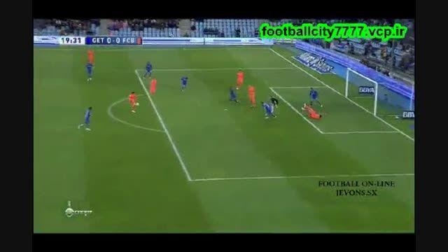 خلاصه بازی ختافه 0 - 0 بارسلونا(لالیگا اسپانیا)