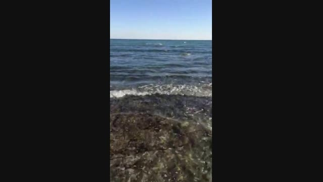 ساحل کیشو ببین کیف کن...حالا هی برو سواحل آنتالیا!